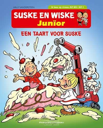 AVI M3: Een taart voor Suske