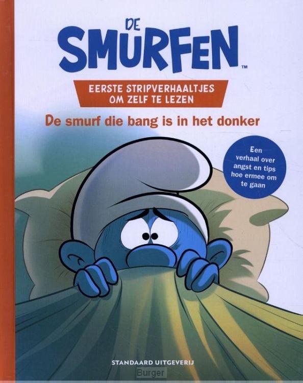 Eerste stripverhaaltjes om zelf te lezen - De Smurf die bang is in het donker
