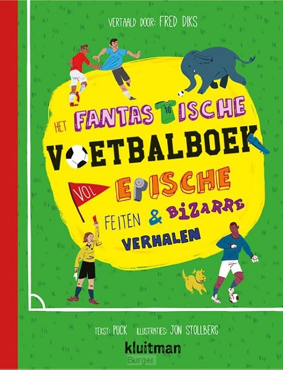Fantastische voetbalboek