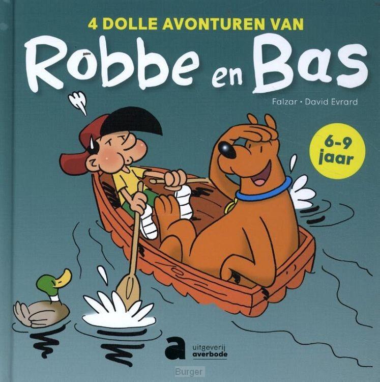 4 dolle avonturen van Robbe en Bas (AVI-strips)
