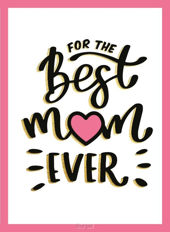 For the best mum ever - Cadeauboeken