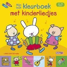 Mijn leuk kleurboek met kinderliedjes / 2-4 jaar