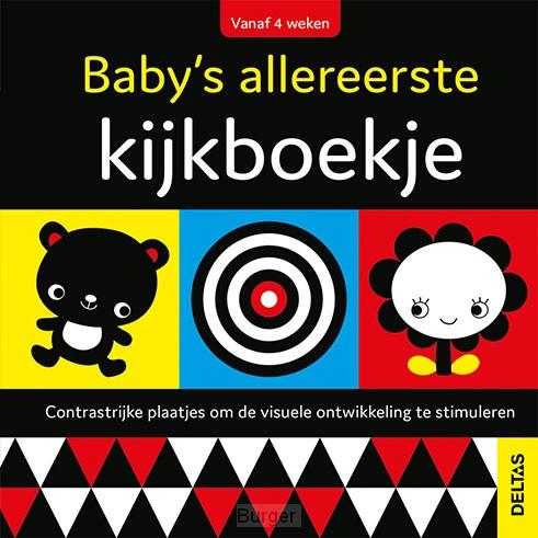 Baby's allereerste kijkboekje (vanaf 4 weken)
