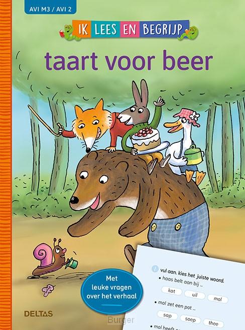 Ik lees en begrijp - taart voor beer (AVI M3 / AVI 2)