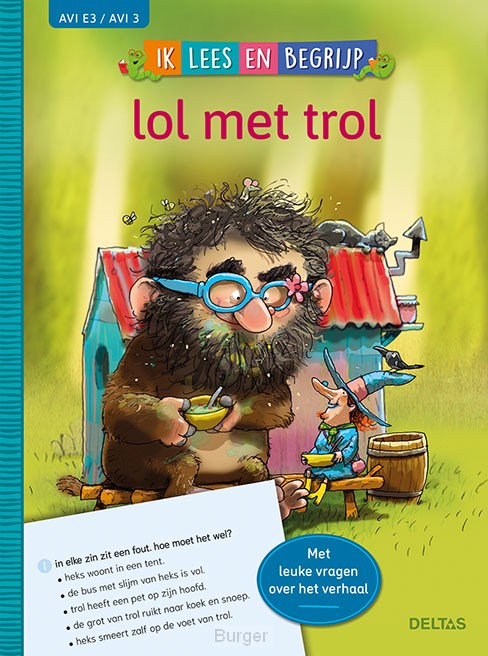 Ik lees en begrijp - lol met trol (AVI E3 / AVI 3)