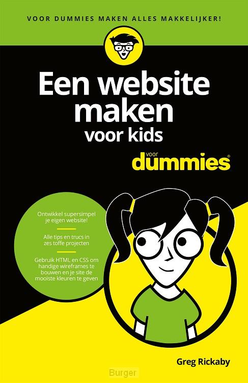 Een website maken voor kids voor Dummies