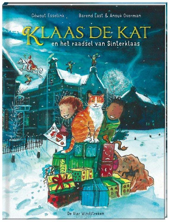 Klaas de kat en het raadsel van Sinterklaas