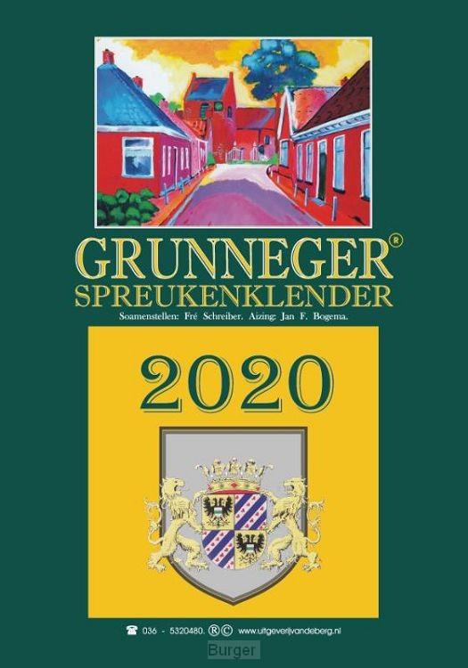 Grunneger spreukenklender 2020