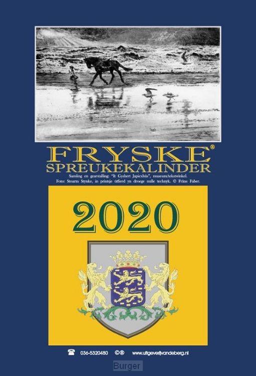 Fryske spreukekalinder 2020