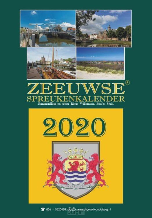 Zeeuwse spreukenkalender 2020