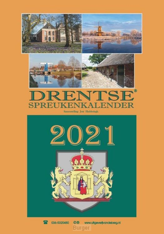 Drentse spreukenkalender 2021
