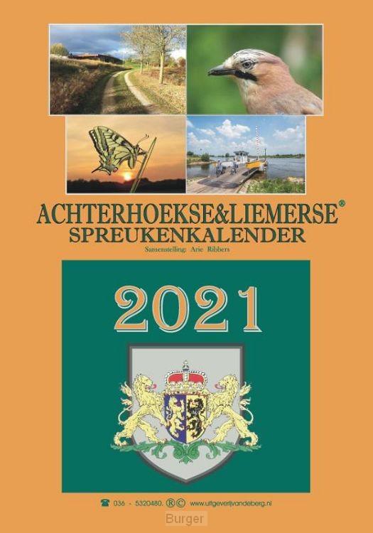 Achterhoekse & Liemerse spreukenkalender 2021