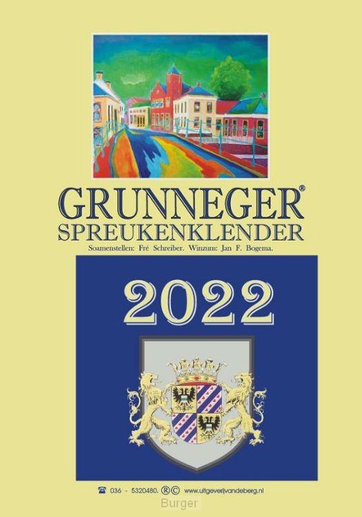 Grunneger spreukenklender 2022