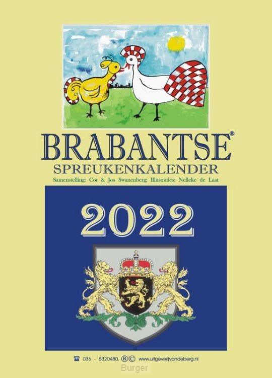 Brabantse spreukenkalender 2022