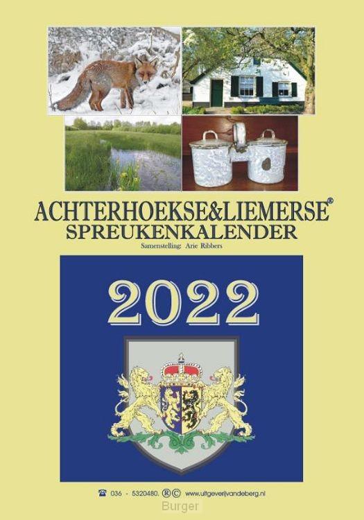 Achterhoekse & Liemerse spreukenkalender 2022