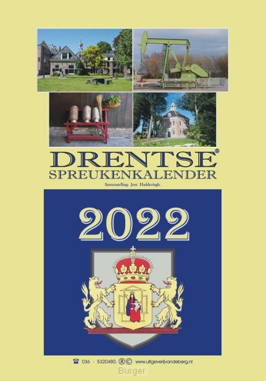 Drentse spreukenkalender 2022