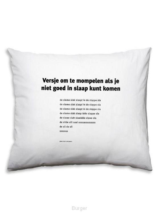 dichter Joke van Leeuwen SL32 kussensloop / 32