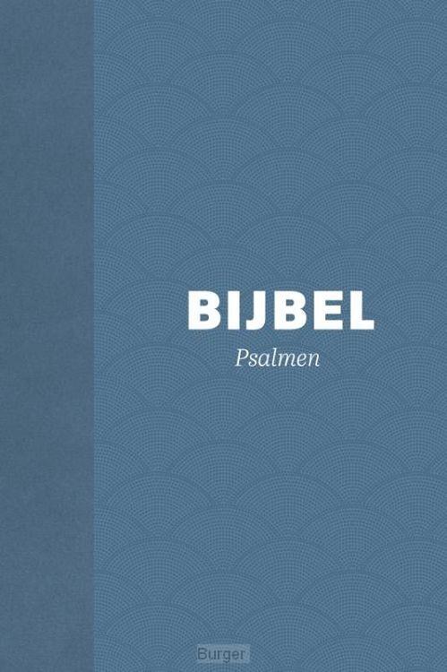 Bijbel hsv met psalmen hardcover blauw