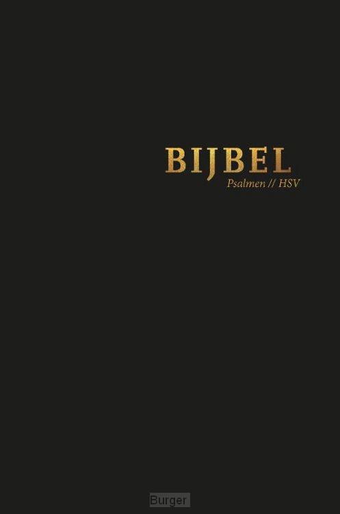 Bijbel HSV psalmen zwart 12x18cm