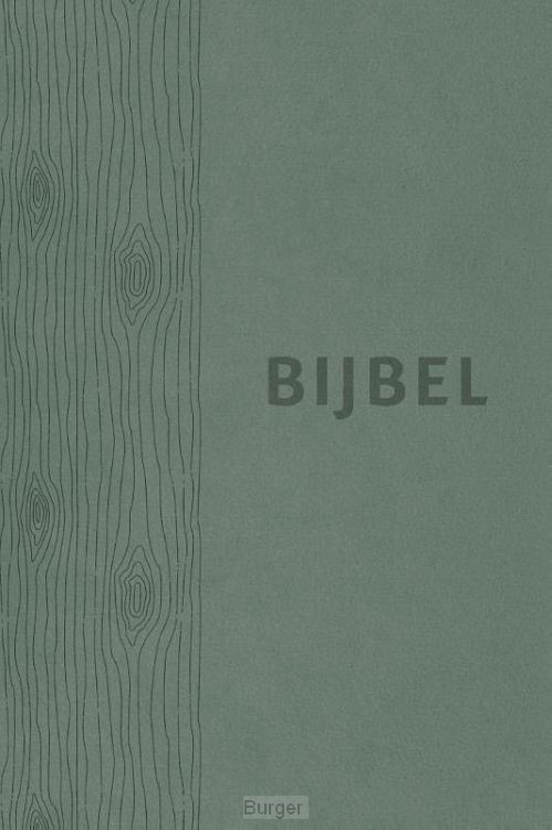Bijbel HSV vivella groen index 12x18cm