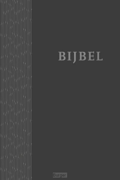 Bijbel HSV antraciet 12x18cm