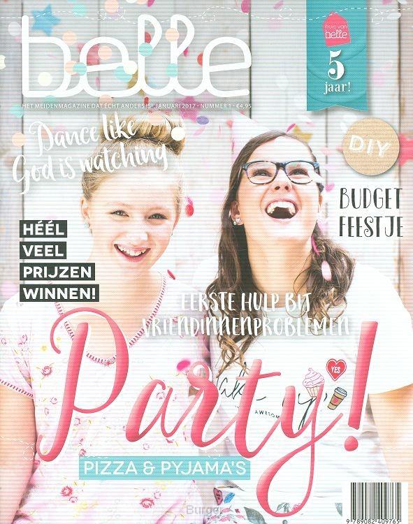 Belle meiden magazine 2017 nr 1