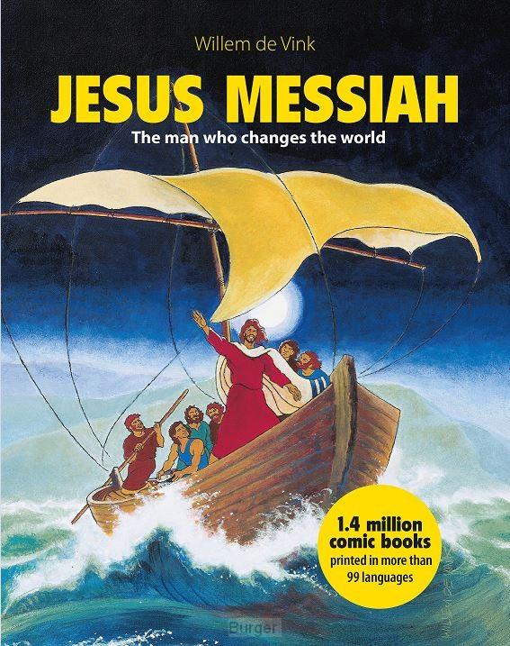 Jesus Messiah stripboek ENGELS