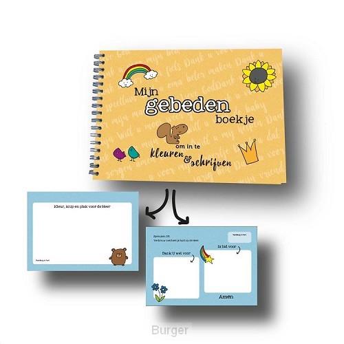 Gebedenboekje om in te kleuren en schrij