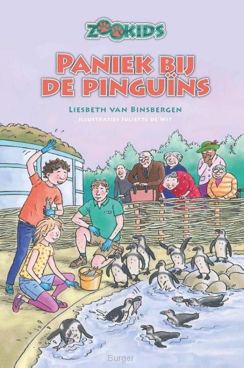 Paniek bij de pinguins