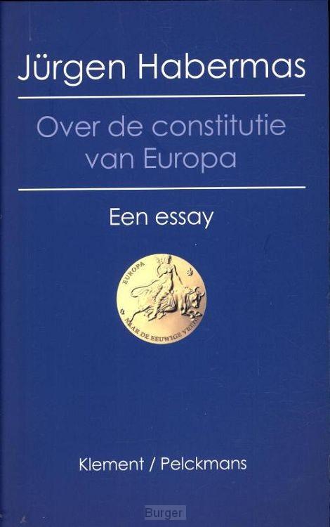 Over de constitutie van europa