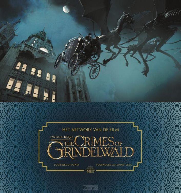 Het artwork van de film Fantastic Beasts: The Crimes of Grindelwald