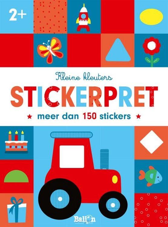 Stickerpret tractor  2+