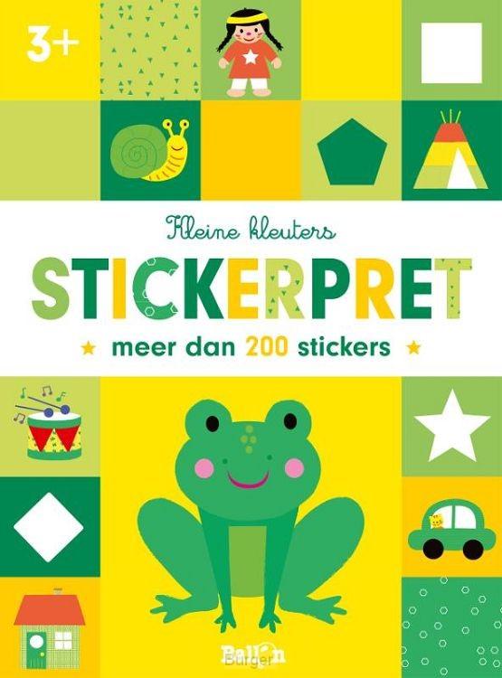 Stickerpret kikker  3+