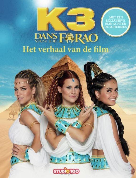 K3 : leesboek - Dans van de Farao