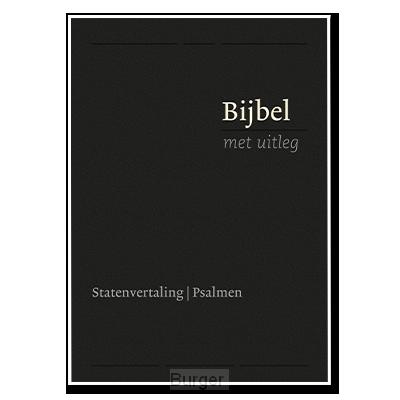 Bijbel bmu MIDDEL zwart flex goud