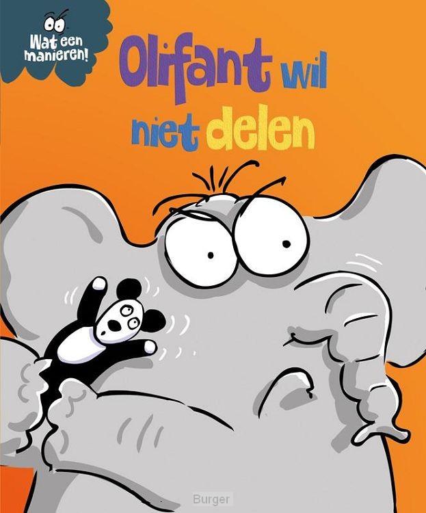 Olifant wil niet delen