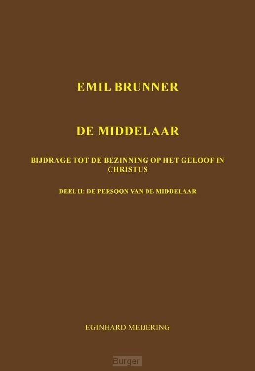 Emil Brunner De Middelaar / 2