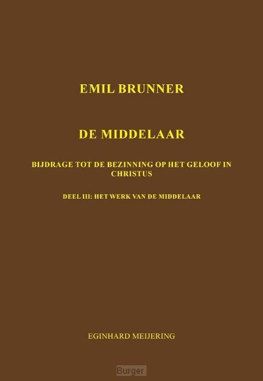 Emil Brunner De Middelaar / 3