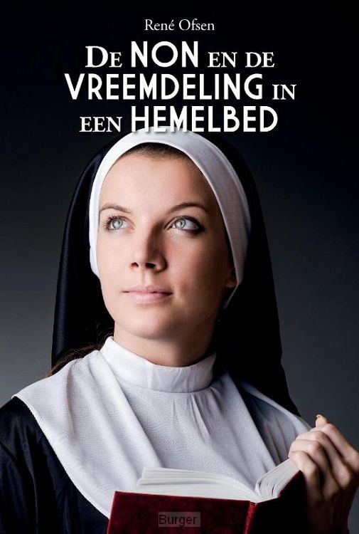 De non en de vreemdeling in een hemelbed
