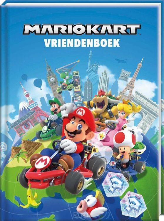 Vriendenboek - Mario Kart