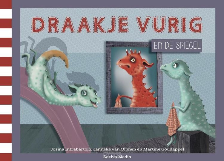 Draakje Vurig en de spiegel