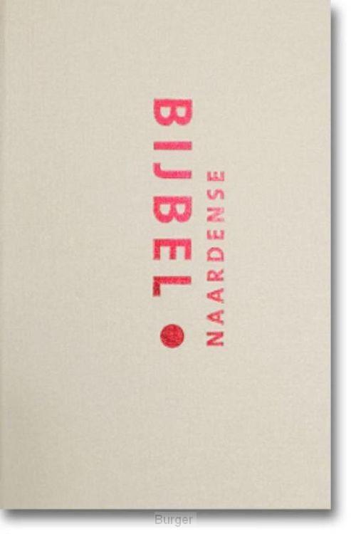 Naardense bijbel met dcb ivoorwit goudsn