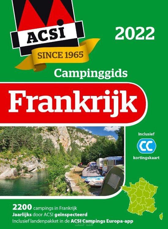 ACSI Campinggids Frankrijk + app 2022