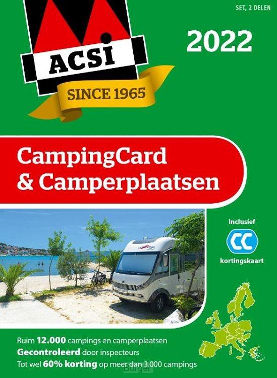 ACSI CampingCard & Camperplaatsen 2022