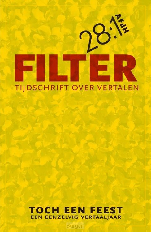 Filter - Tijdschrift over vertalen