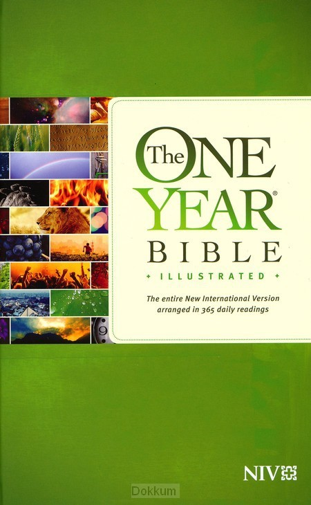 ONE YEAR BIBLE ILLUSTRATED - NIV