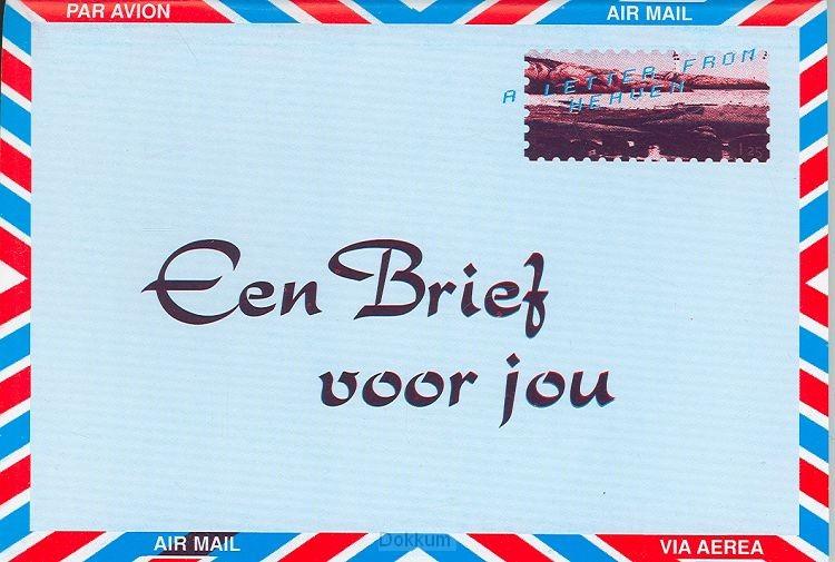 BRIEF VOOR JE - NEDERLANDS