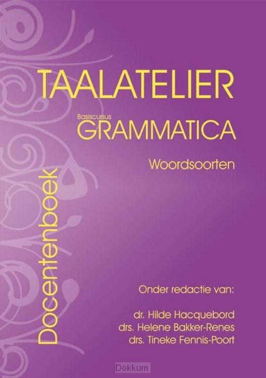 Woordsoorten basiscursus grammatica / Ta