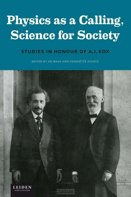 Physics as a calling, science for societ