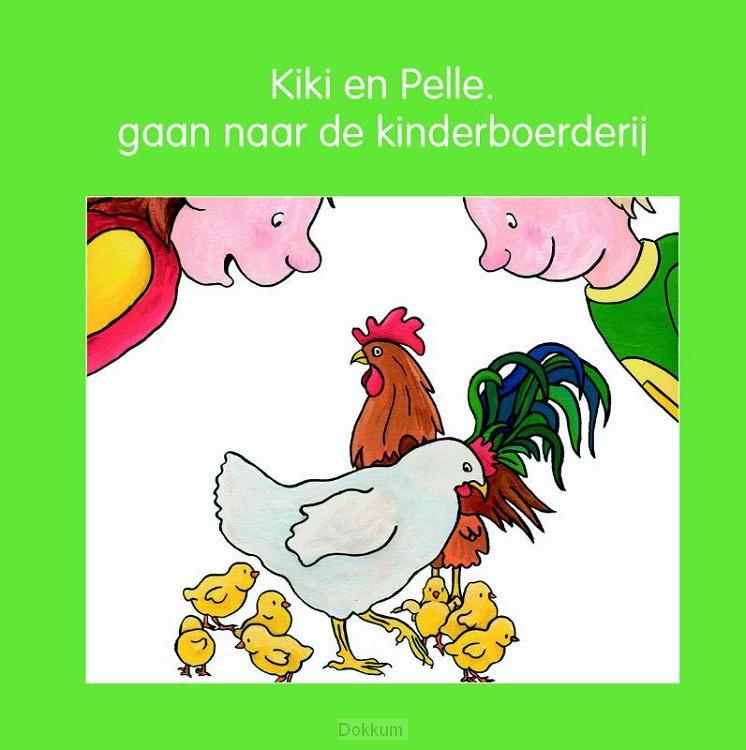 Kiki en Pelle gaan naar de kinderboerder